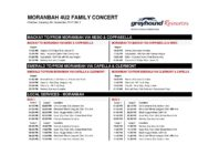 FREE BUSSES TO 4U2 Concert from Mackay and Emerald